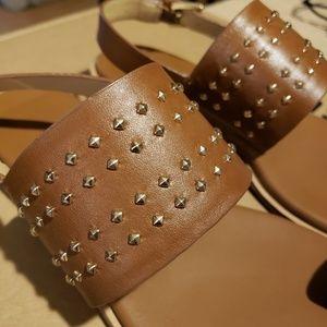 Michael Kors Shoes - Michael Kors Sonya Stud Thong Sandal Size 6